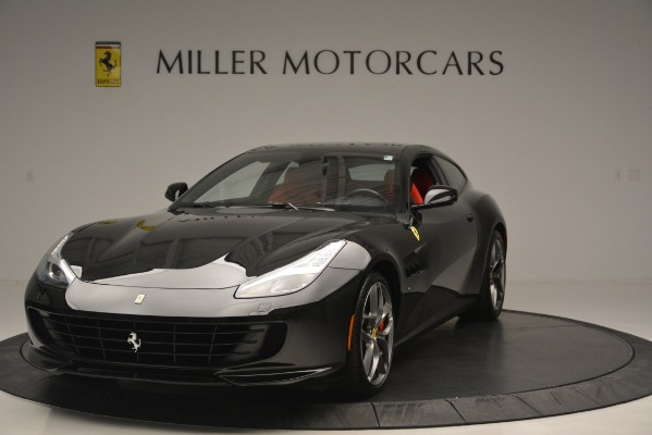 Used 2018 Ferrari GTC4LussoT V8 for sale $219,900 at Aston Martin of Greenwich in Greenwich CT 06830 1