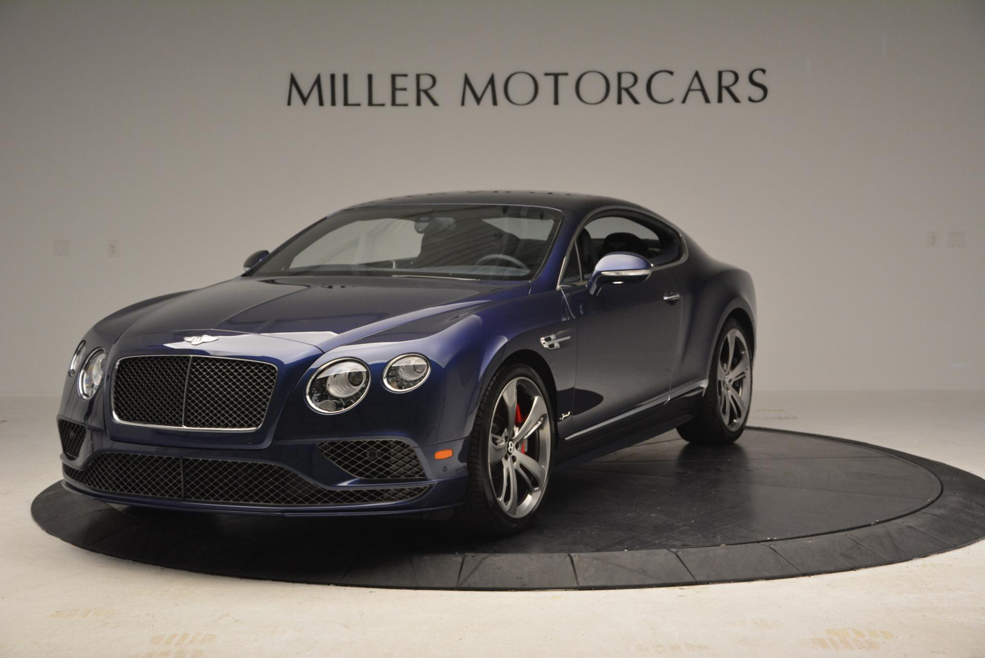 Used 2016 Bentley Continental GT Speed GT Speed for sale Sold at Aston Martin of Greenwich in Greenwich CT 06830 1