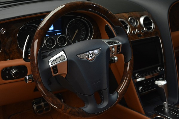 New 2018 Bentley Flying Spur V8 for sale Sold at Aston Martin of Greenwich in Greenwich CT 06830 23