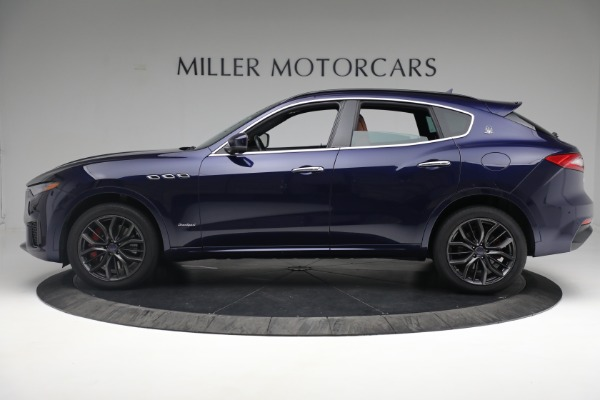 New 2019 Maserati Levante S Q4 GranSport for sale Sold at Aston Martin of Greenwich in Greenwich CT 06830 3