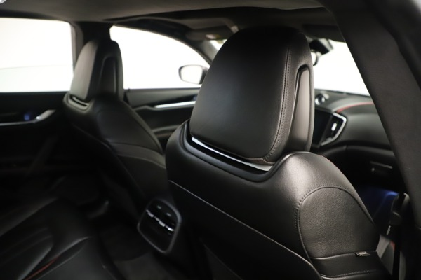 Used 2019 Maserati Ghibli S Q4 GranSport for sale $64,900 at Aston Martin of Greenwich in Greenwich CT 06830 28