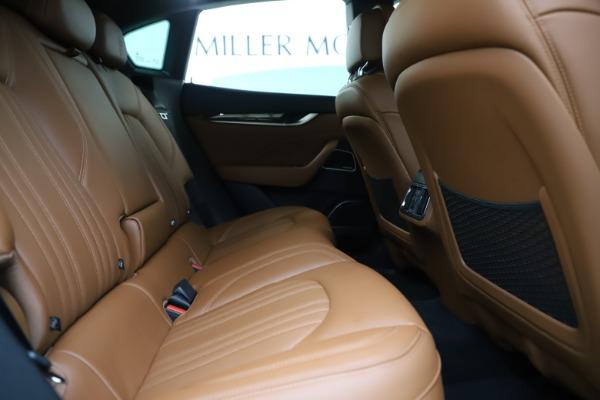 Used 2019 Maserati Levante Q4 GranLusso for sale Sold at Aston Martin of Greenwich in Greenwich CT 06830 27