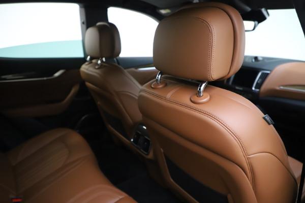 Used 2019 Maserati Levante Q4 GranLusso for sale Sold at Aston Martin of Greenwich in Greenwich CT 06830 28