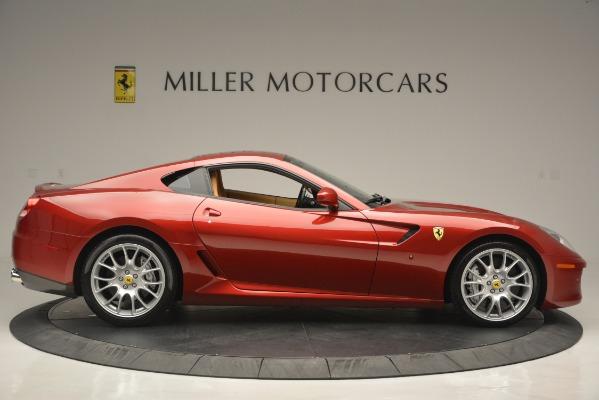 Used 2009 Ferrari 599 GTB Fiorano for sale Sold at Aston Martin of Greenwich in Greenwich CT 06830 9