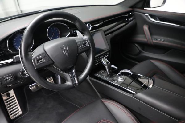 Used 2019 Maserati Quattroporte S Q4 GranLusso for sale Call for price at Aston Martin of Greenwich in Greenwich CT 06830 14