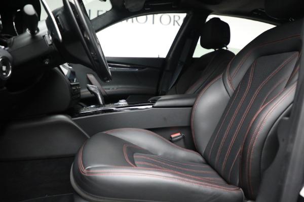 Used 2019 Maserati Quattroporte S Q4 GranLusso for sale Call for price at Aston Martin of Greenwich in Greenwich CT 06830 15