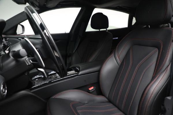 Used 2019 Maserati Quattroporte S Q4 GranLusso for sale Call for price at Aston Martin of Greenwich in Greenwich CT 06830 16