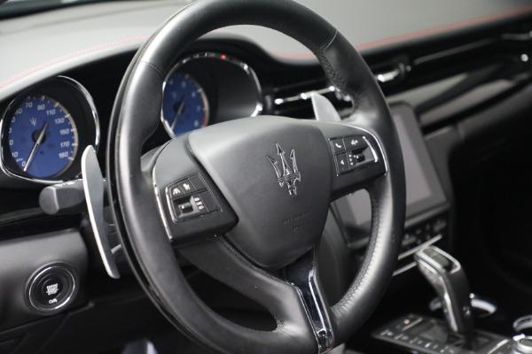 Used 2019 Maserati Quattroporte S Q4 GranLusso for sale Call for price at Aston Martin of Greenwich in Greenwich CT 06830 17