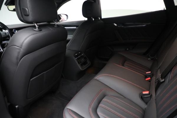 New 2019 Maserati Quattroporte S Q4 GranLusso for sale Sold at Aston Martin of Greenwich in Greenwich CT 06830 22
