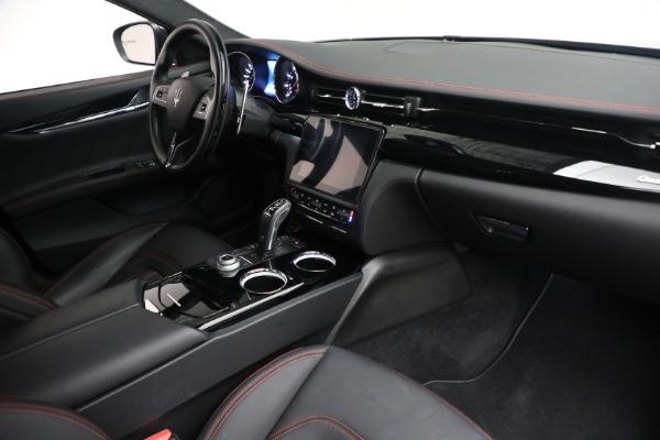 Used 2019 Maserati Quattroporte S Q4 GranLusso for sale Call for price at Aston Martin of Greenwich in Greenwich CT 06830 26