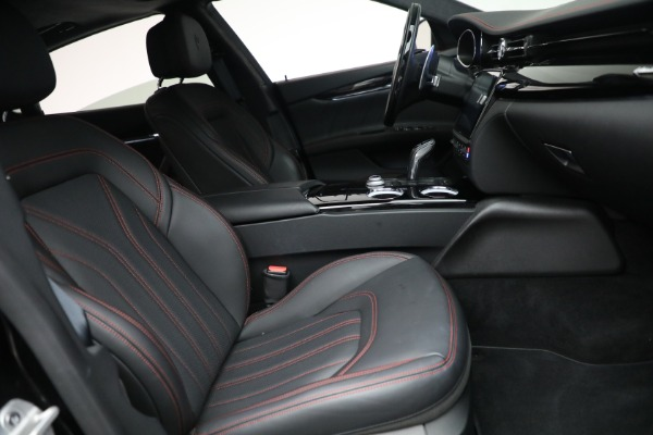 New 2019 Maserati Quattroporte S Q4 GranLusso for sale Sold at Aston Martin of Greenwich in Greenwich CT 06830 27