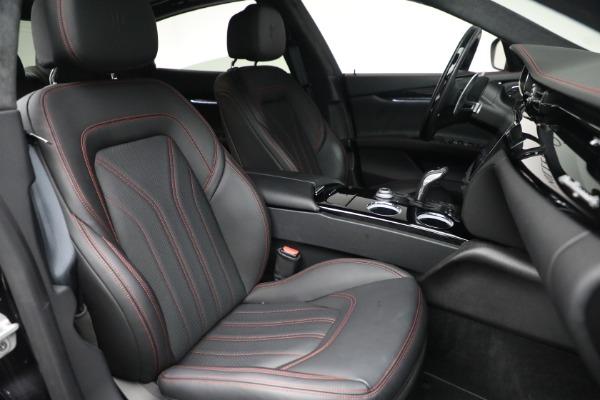 Used 2019 Maserati Quattroporte S Q4 GranLusso for sale Call for price at Aston Martin of Greenwich in Greenwich CT 06830 28