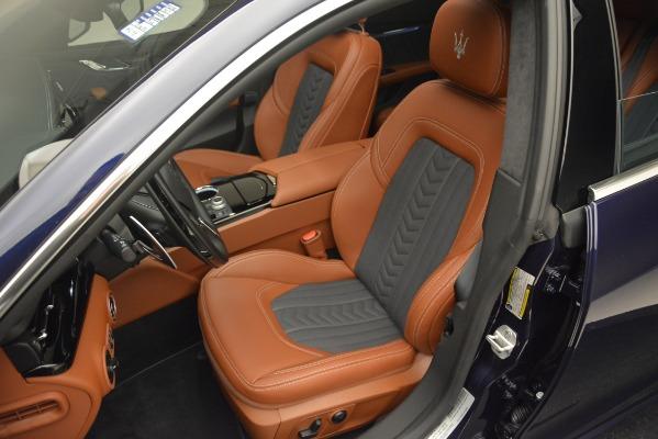 New 2019 Maserati Quattroporte S Q4 GranLusso for sale Sold at Aston Martin of Greenwich in Greenwich CT 06830 13