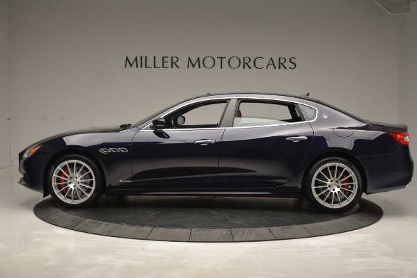 New 2019 Maserati Quattroporte S Q4 GranLusso for sale Sold at Aston Martin of Greenwich in Greenwich CT 06830 3