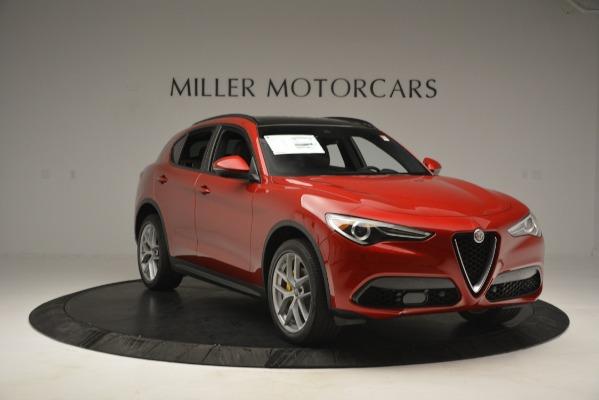 New 2018 Alfa Romeo Stelvio Ti Sport Q4 for sale Sold at Aston Martin of Greenwich in Greenwich CT 06830 11
