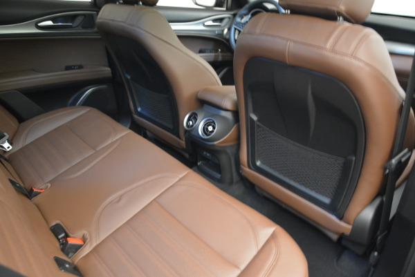 New 2018 Alfa Romeo Stelvio Ti Sport Q4 for sale Sold at Aston Martin of Greenwich in Greenwich CT 06830 22