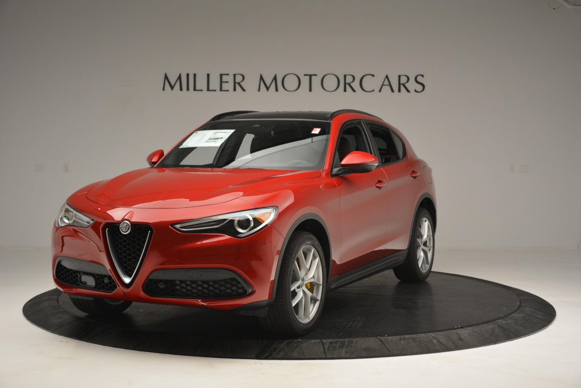 New 2018 Alfa Romeo Stelvio Ti Sport Q4 for sale Sold at Aston Martin of Greenwich in Greenwich CT 06830 1