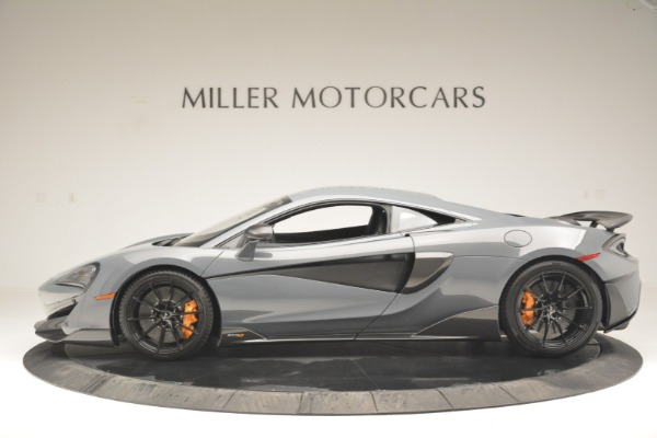 New 2019 McLaren 600LT Coupe for sale Sold at Aston Martin of Greenwich in Greenwich CT 06830 3