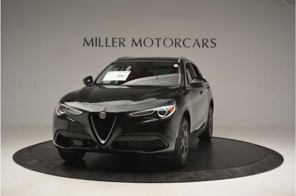 New 2019 Alfa Romeo Stelvio Q4 for sale Sold at Aston Martin of Greenwich in Greenwich CT 06830 1