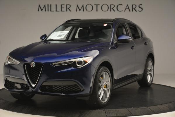 New 2019 Alfa Romeo Stelvio SPORT AWD for sale Sold at Aston Martin of Greenwich in Greenwich CT 06830 1