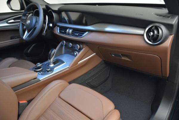 New 2019 Alfa Romeo Stelvio Sport Q4 for sale Sold at Aston Martin of Greenwich in Greenwich CT 06830 20