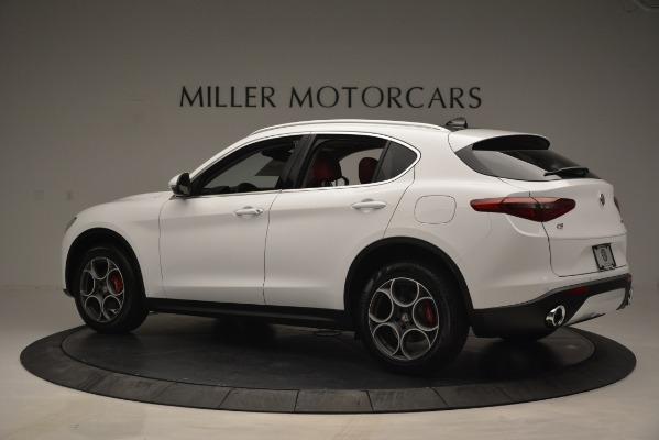 New 2019 Alfa Romeo Stelvio Q4 for sale Sold at Aston Martin of Greenwich in Greenwich CT 06830 4