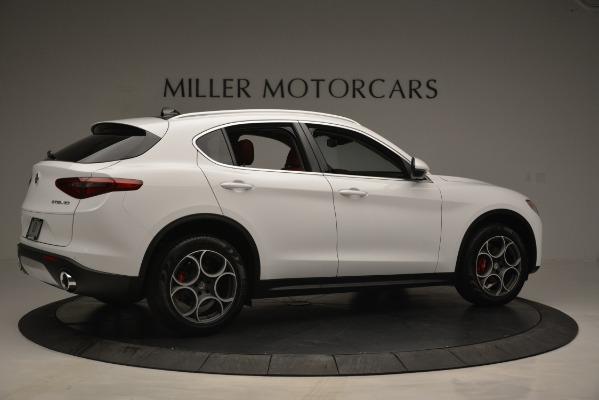 New 2019 Alfa Romeo Stelvio Q4 for sale Sold at Aston Martin of Greenwich in Greenwich CT 06830 8