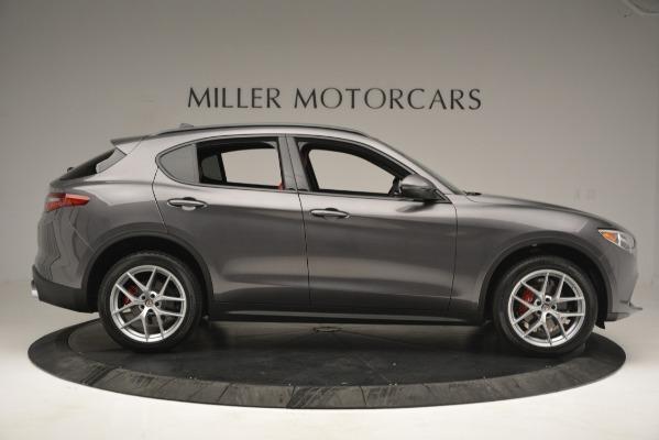 New 2019 Alfa Romeo Stelvio Ti Sport Q4 for sale Sold at Aston Martin of Greenwich in Greenwich CT 06830 9