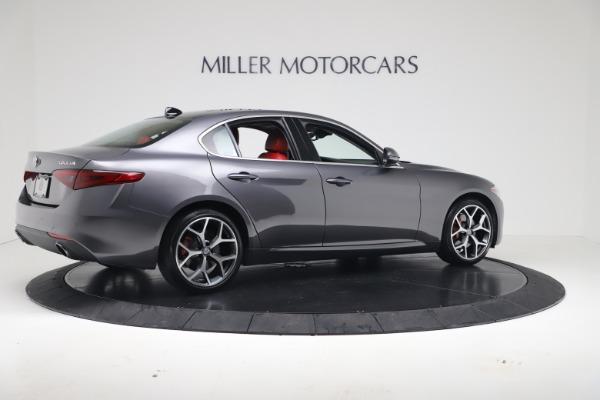 New 2019 Alfa Romeo Giulia Q4 for sale Sold at Aston Martin of Greenwich in Greenwich CT 06830 8