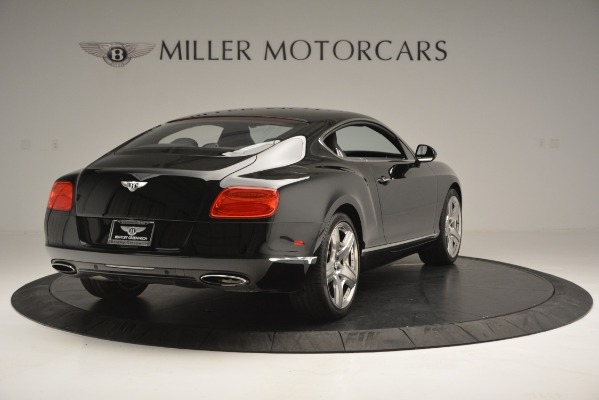 Used 2012 Bentley Continental GT W12 for sale Sold at Aston Martin of Greenwich in Greenwich CT 06830 8
