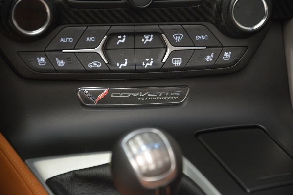 Used 2014 Chevrolet Corvette Stingray Z51 for sale Sold at Aston Martin of Greenwich in Greenwich CT 06830 23