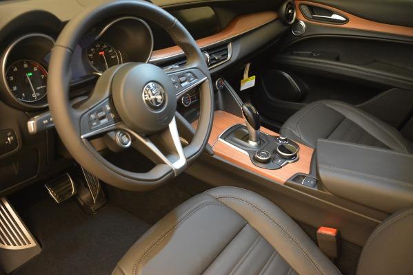 New 2018 Alfa Romeo Stelvio Ti Lusso Q4 for sale Sold at Aston Martin of Greenwich in Greenwich CT 06830 13