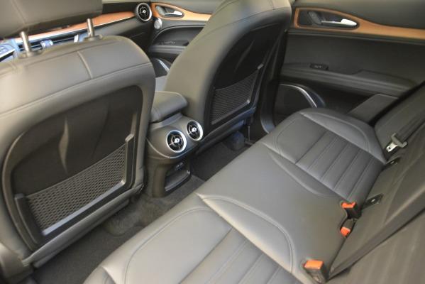 New 2018 Alfa Romeo Stelvio Ti Lusso Q4 for sale Sold at Aston Martin of Greenwich in Greenwich CT 06830 18