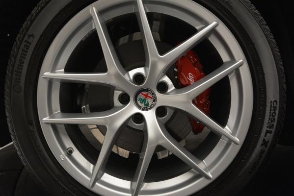 New 2018 Alfa Romeo Stelvio Ti Lusso Q4 for sale Sold at Aston Martin of Greenwich in Greenwich CT 06830 25