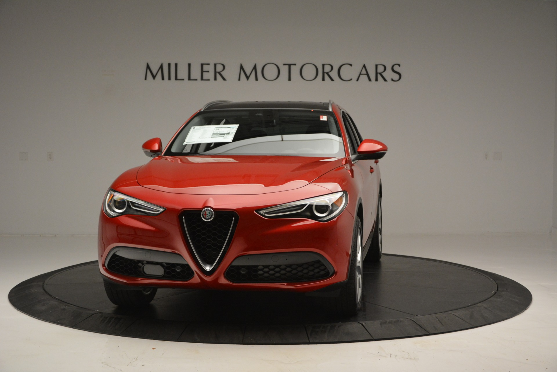 New 2018 Alfa Romeo Stelvio Ti Lusso Q4 for sale Sold at Aston Martin of Greenwich in Greenwich CT 06830 1