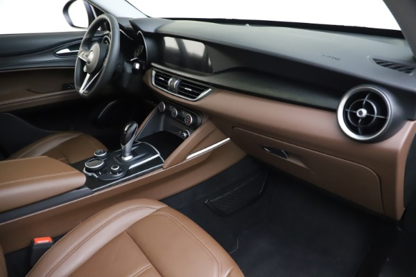 Used 2019 Alfa Romeo Stelvio Q4 for sale Sold at Aston Martin of Greenwich in Greenwich CT 06830 22