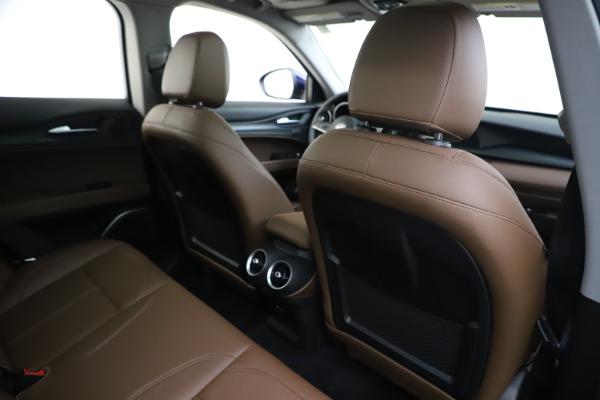 Used 2019 Alfa Romeo Stelvio Q4 for sale Sold at Aston Martin of Greenwich in Greenwich CT 06830 28