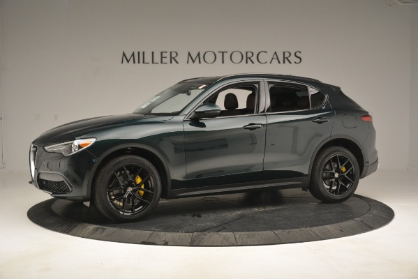 New 2019 Alfa Romeo Stelvio Sport Q4 for sale Sold at Aston Martin of Greenwich in Greenwich CT 06830 2