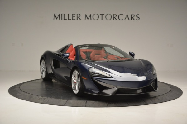 New 2019 McLaren 570S Spider Convertible for sale Sold at Aston Martin of Greenwich in Greenwich CT 06830 11