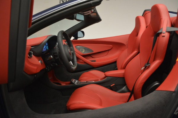 New 2019 McLaren 570S Spider Convertible for sale Sold at Aston Martin of Greenwich in Greenwich CT 06830 24