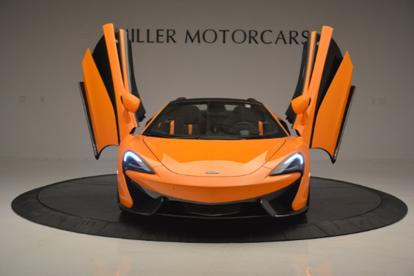 Used 2019 McLaren 570S Spider for sale Sold at Aston Martin of Greenwich in Greenwich CT 06830 13