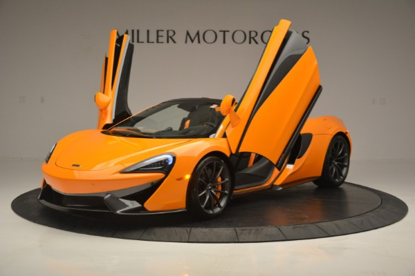 Used 2019 McLaren 570S Spider for sale Sold at Aston Martin of Greenwich in Greenwich CT 06830 14