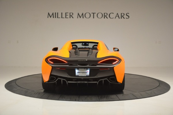 Used 2019 McLaren 570S Spider for sale Sold at Aston Martin of Greenwich in Greenwich CT 06830 18