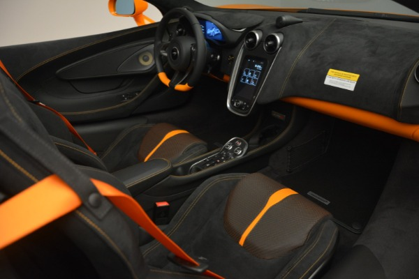 Used 2019 McLaren 570S Spider for sale Sold at Aston Martin of Greenwich in Greenwich CT 06830 26