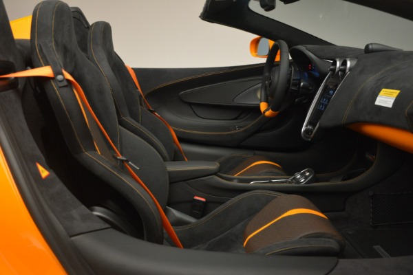 Used 2019 McLaren 570S Spider for sale Sold at Aston Martin of Greenwich in Greenwich CT 06830 27