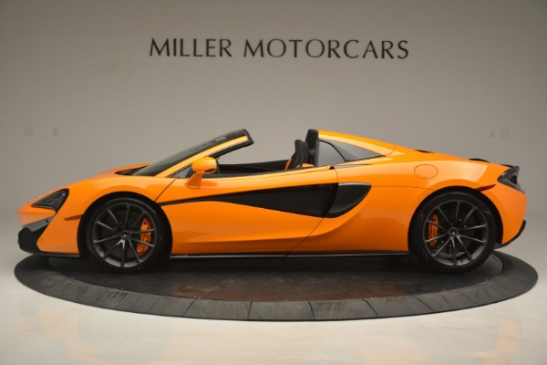 Used 2019 McLaren 570S Spider for sale Sold at Aston Martin of Greenwich in Greenwich CT 06830 3