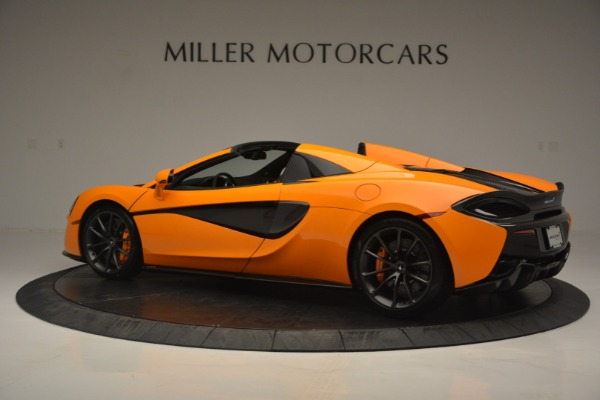 Used 2019 McLaren 570S Spider for sale Sold at Aston Martin of Greenwich in Greenwich CT 06830 4