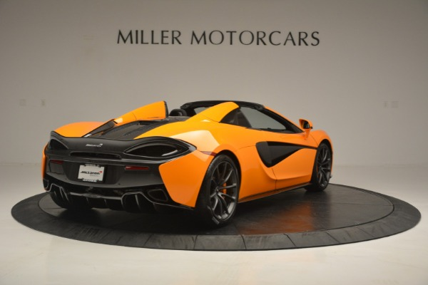 Used 2019 McLaren 570S Spider for sale Sold at Aston Martin of Greenwich in Greenwich CT 06830 7