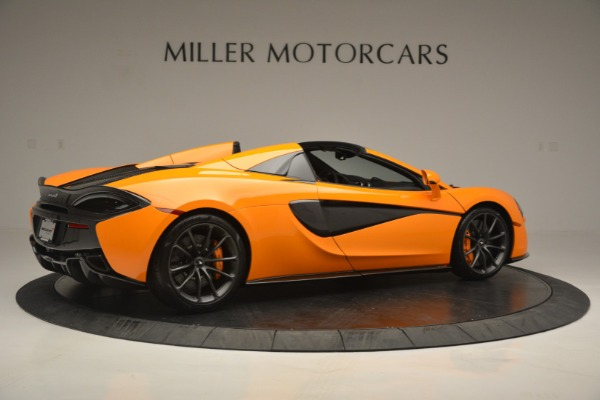 Used 2019 McLaren 570S Spider for sale Sold at Aston Martin of Greenwich in Greenwich CT 06830 8