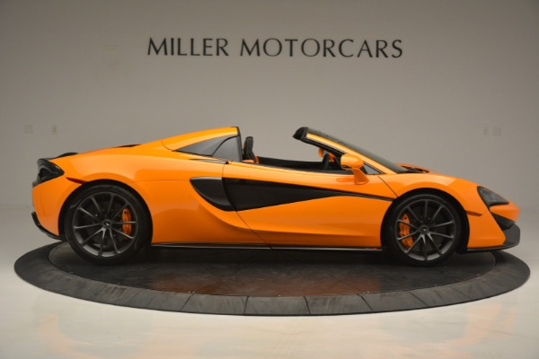 Used 2019 McLaren 570S Spider for sale Sold at Aston Martin of Greenwich in Greenwich CT 06830 9